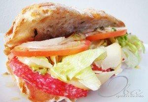 Phillie Hoagie Sandwich