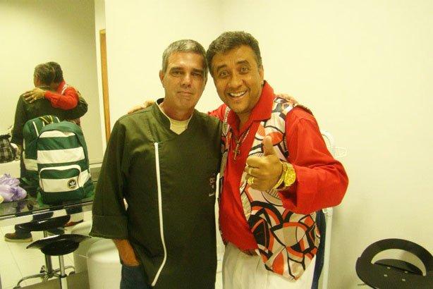 Eu e Paulinho Gogó
