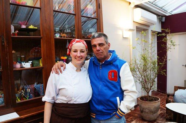 Eu e a Chef Eliane Bublitz