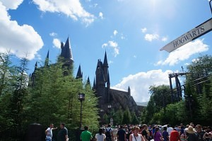 Wizarding World of Harry Potter e o Three Broomsticks