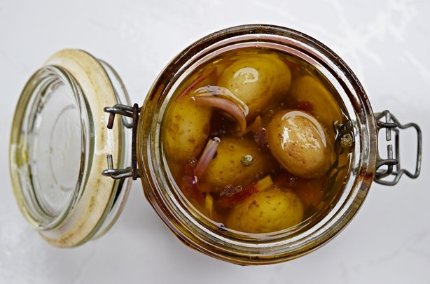 Conserva de batatas 1