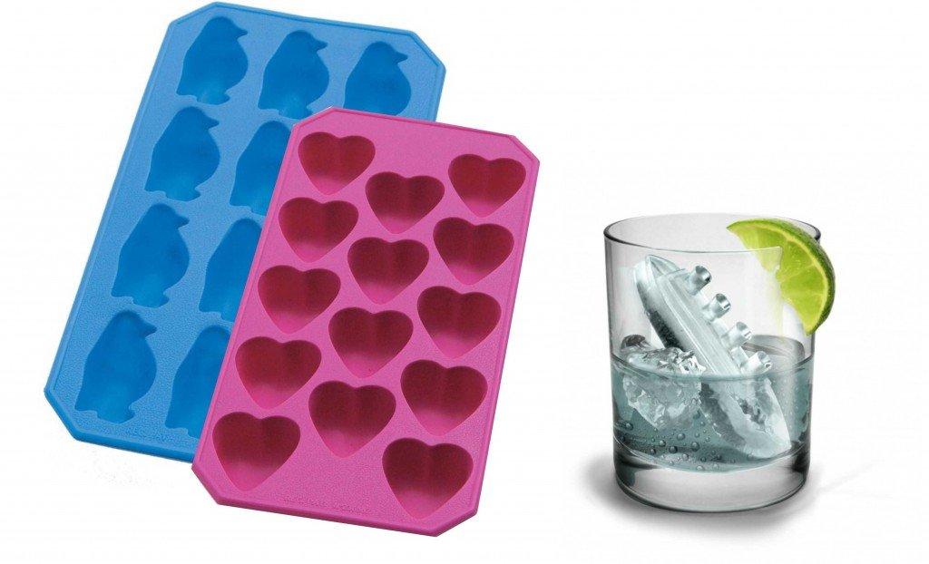 Formas de gelo em formatos divertidos - Regali Per La Casa