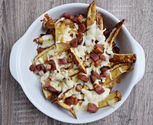 Aussie Cheese Fries de meu jeito