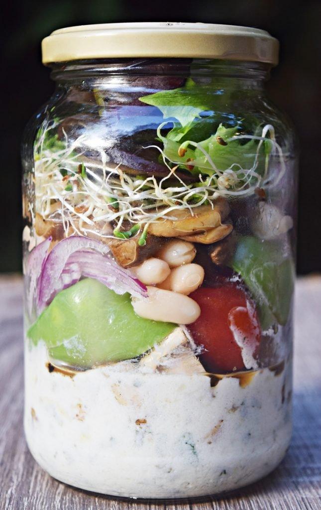 Salada no pote 2
