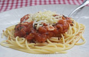 Espaguete com Tomates Frescos – Macarrão na sua forma mais pura