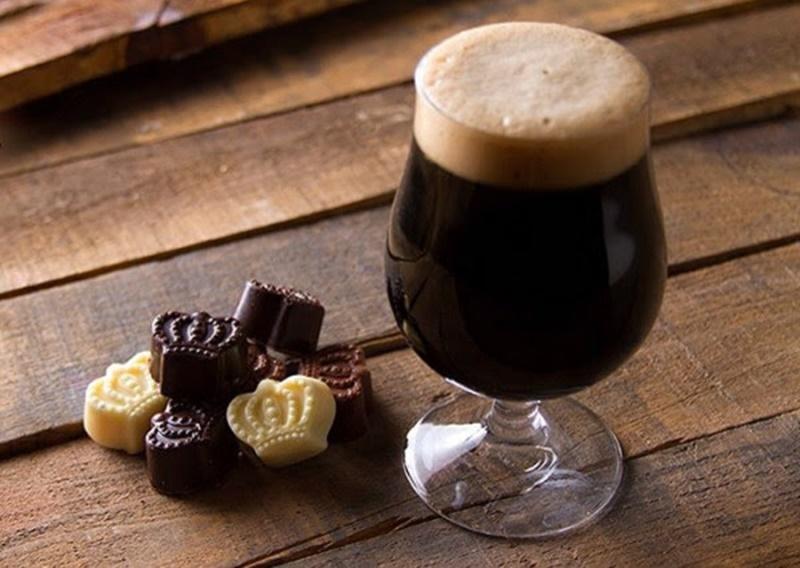 Cerveja e chocolate