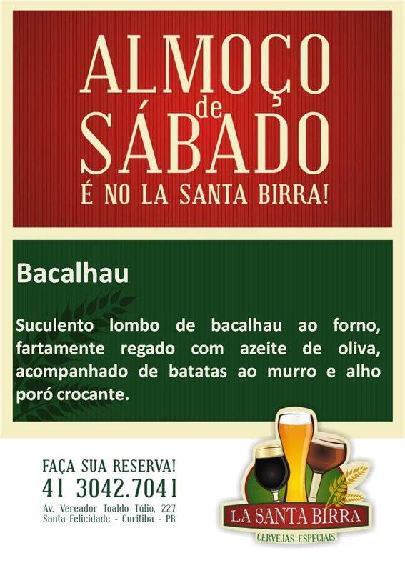 Bacalhau Santa Birra