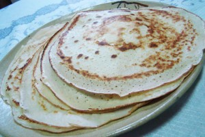 Panquecas (Crêpes)