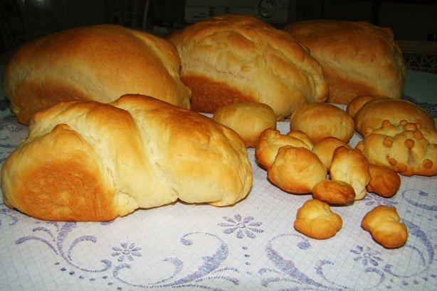 Pão de Férias (Crianças na cozinha)