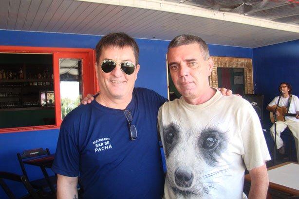 Eu e Zico Garcez