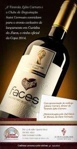 Lançamento do vinho oficial da Copa 2014