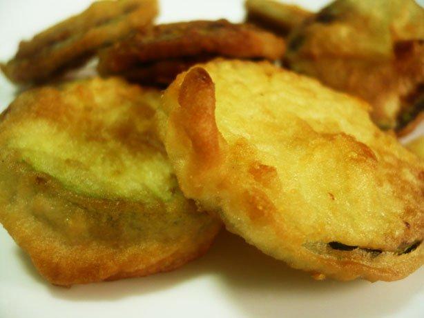 Abobrinha empanada
