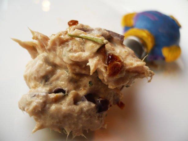Pasta de Atum, Azeitona Preta e Tomate Seco