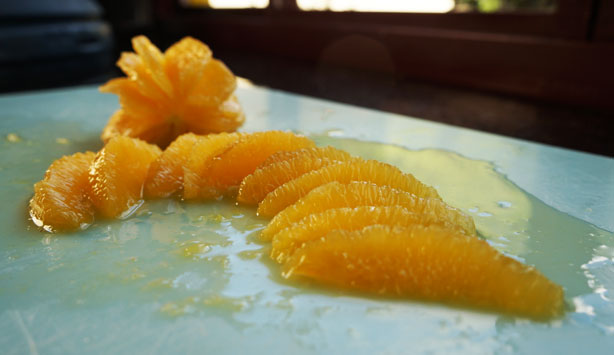 Descascar laranja 2