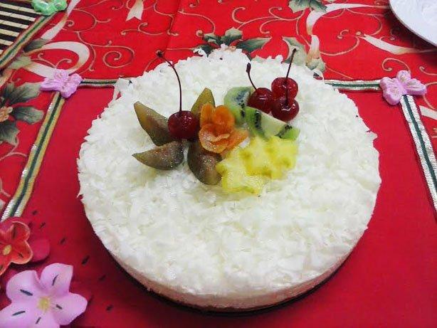 Torta Festiva de Coco – Fabiana Aruto