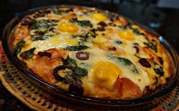 Pizza Florentina 1