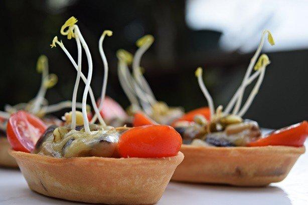 Barquetes de Cogumelos