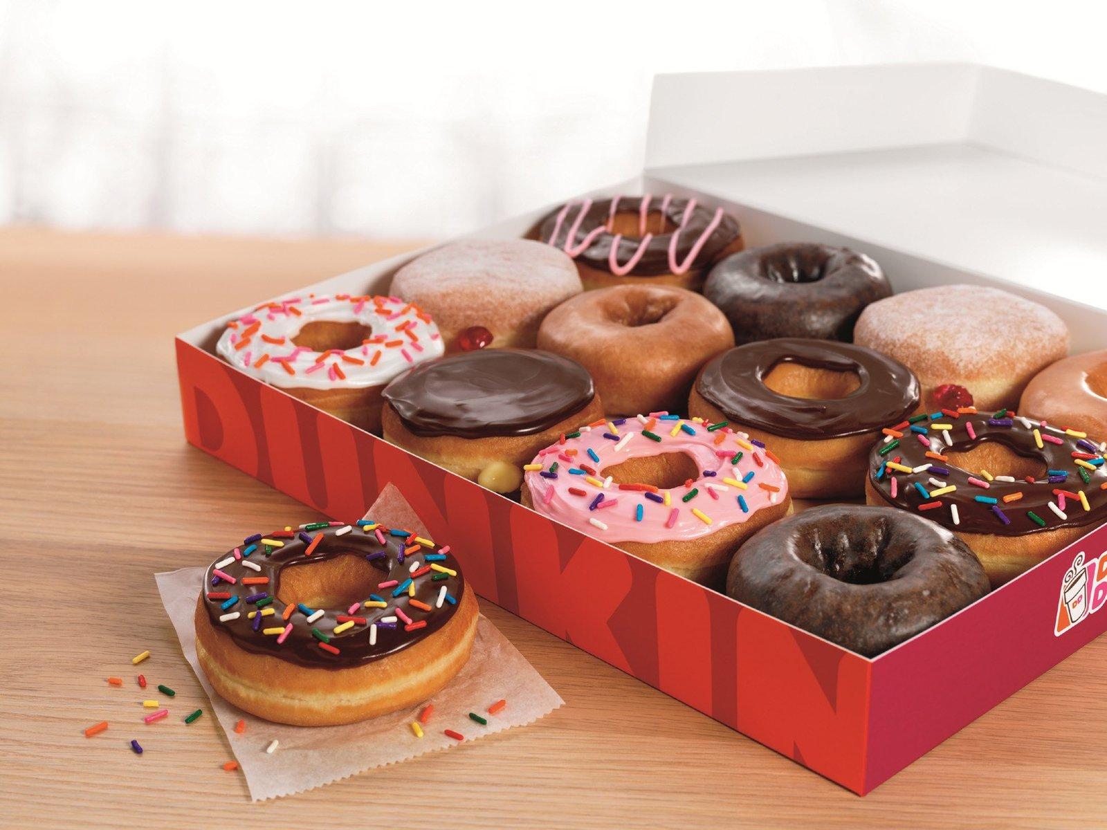 Eles chegaram ao Brasil – Dunkin' Donuts