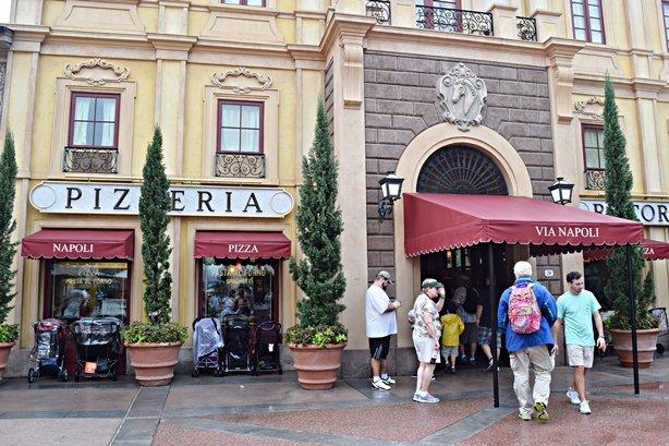 Via Napoli Ristorante e Pizzeria – Italy Pavilion – Epcot