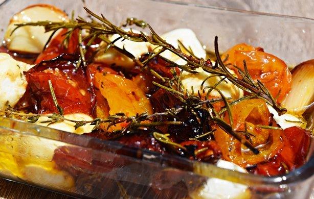 Tomatinhos assados com mel 1