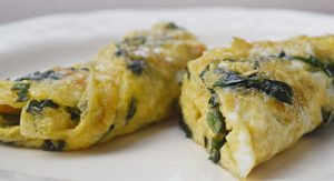 Omelete de Serralha – PANC boa demais