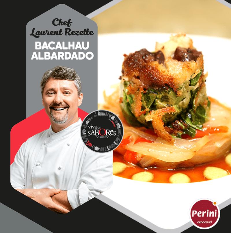 Bacalhau Albardado – Chef Laurent Rezette