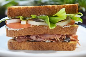 Pastrami Club Sandwich