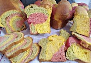 Pão Colorido de Legumes – Claudia Habas