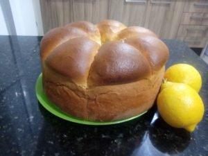 Pão de Limão Siciliano – Claudia Habas